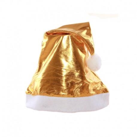 Cappello Natale Dorato