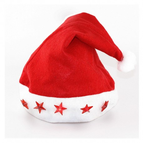 Cappello Natale Luci Led