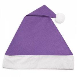 Cappello Babbo Natale Viola