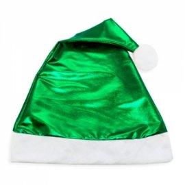 Cappello Natale Verde Metallizzato
