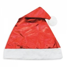 Cappello Natale Rosso Metallizzato
