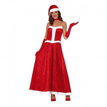 Costume Santa Claus Donna
